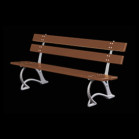 Benches 2142 - Salix | Street furniture | Neri products