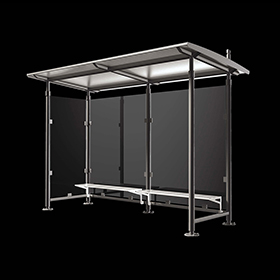 Bus shelters 2403 - Carya | Street furniture | Neri products