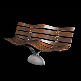 Benches 2197 - Idesia | Street furniture | Neri products