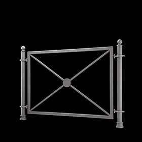 Railings 2970 - Melia | Street furniture | Neri products