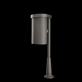 Litter bins 2273 - Gilia | Street furniture | Neri products