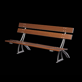 Benches 2146 - Lotus | Street furniture | Neri products