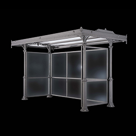 Bus shelters 2400 - Scilla | Street furniture | Neri products