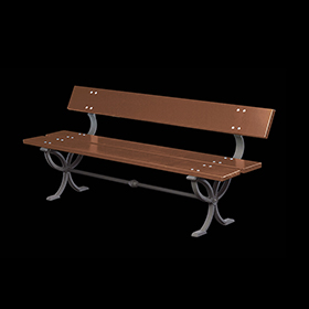 Benches 2170 - Nyssa | Street furniture | Neri products