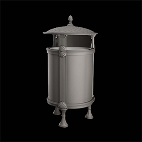 Litter bins 2270 - Layia | Street furniture | Neri products