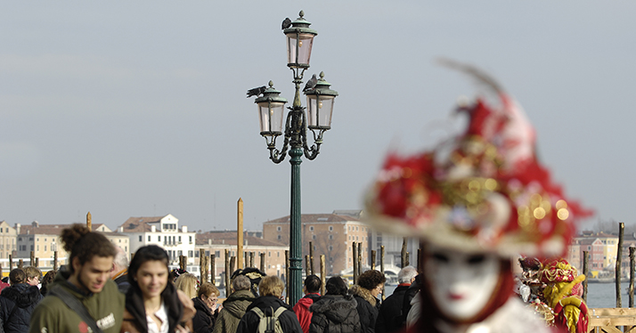 The Canal Grande Lamp Post
